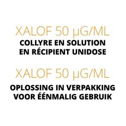 Xalof 50 µg/ml collyre en solution en récipient unidose