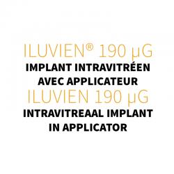 ILUVIEN® 190 micro g, implant intravitréen avec applicateur